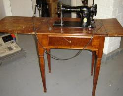Leather sewing machine - Looking for antique sewing