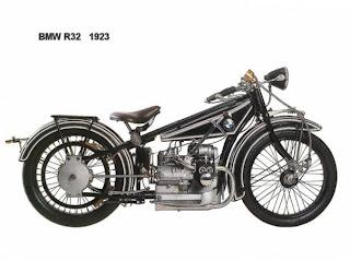 MOTOR bmw R32 1923