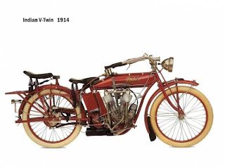 Motor Indian V-Twin 1914