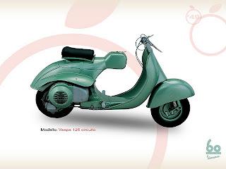 MOTOR Vespa 125 1951