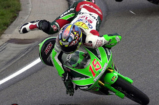 photo review : accident motogp Race