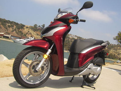 scooter matic SH150i Present by Honda