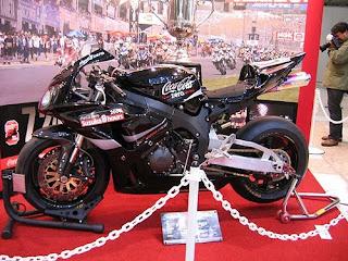 coca cola model motobike