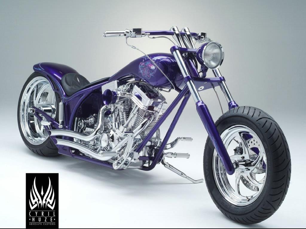 Custom motorbike Harley wallpapper title=