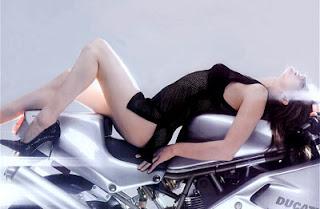 motorcycle gede girl