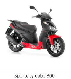Aprilia SPORTCITY CUBE 300 specification