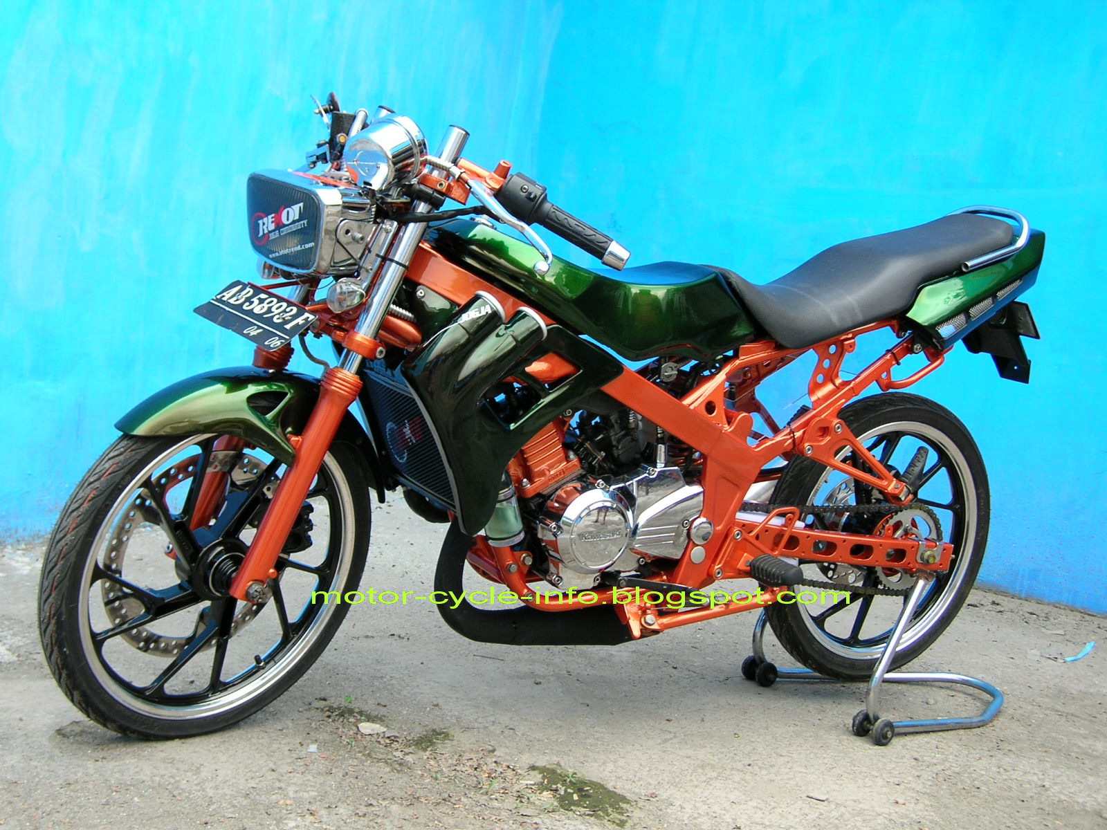 tag :airbrush, concept, design, Kawasaki, motor treatment, motor cycle