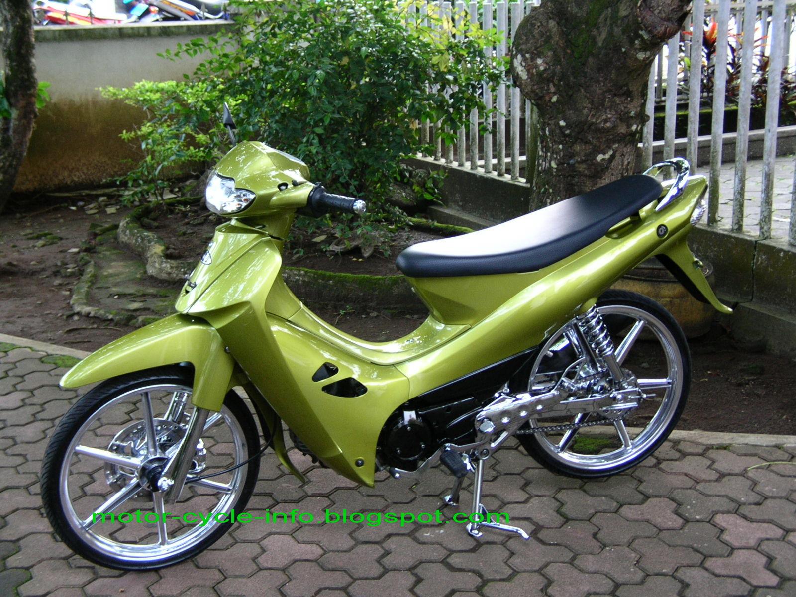 Modifikasi Kawasaki Blitz