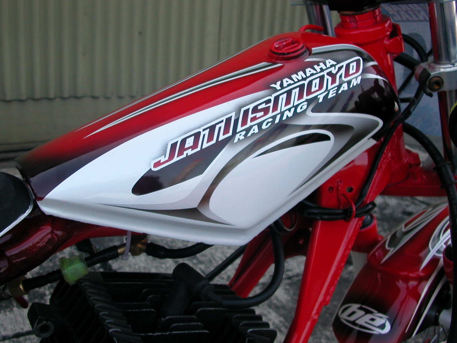 Image of Motor Modifikasi Airbrush