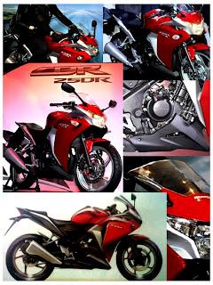 Honda CBR 250R motorbike