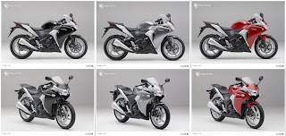 Honda CBR Design