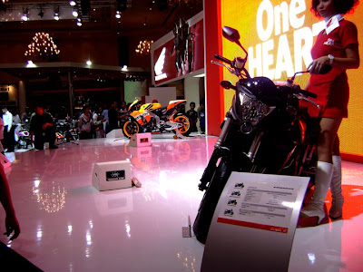 Honda CBR 1000RR in exhibition event
