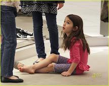 Katie Holmes Suri Cruise Heels