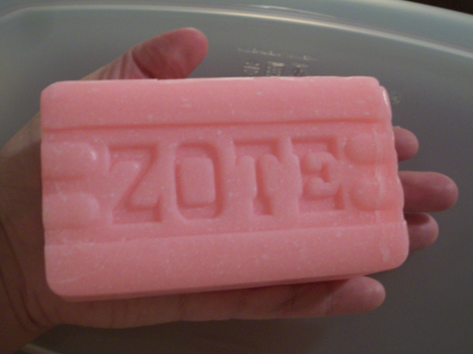 Heather's Blog-o-rama: Pink ZOTE Soap Makes Fabulous Homemade Laundry ...