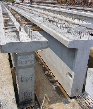 Prestressed Concrete T-Girder