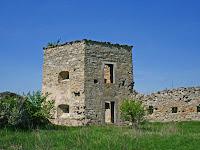 Руины кудринецкого замка