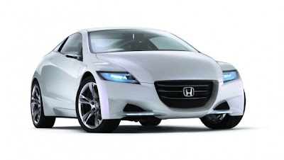 New 2010 Honda CR-Z a sporty hybrid will be sold in Japan