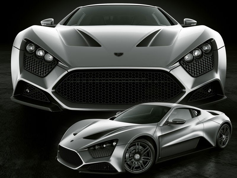 Automotive Cars Review The Unique Zenvo St1hand Built