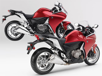 HONDA VFR1200F V-4 the next generation of new motorcycle technology