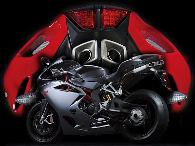 Expectedly, the 2010 MV Agusta F4 is based of Massimo Tamburini's iconic