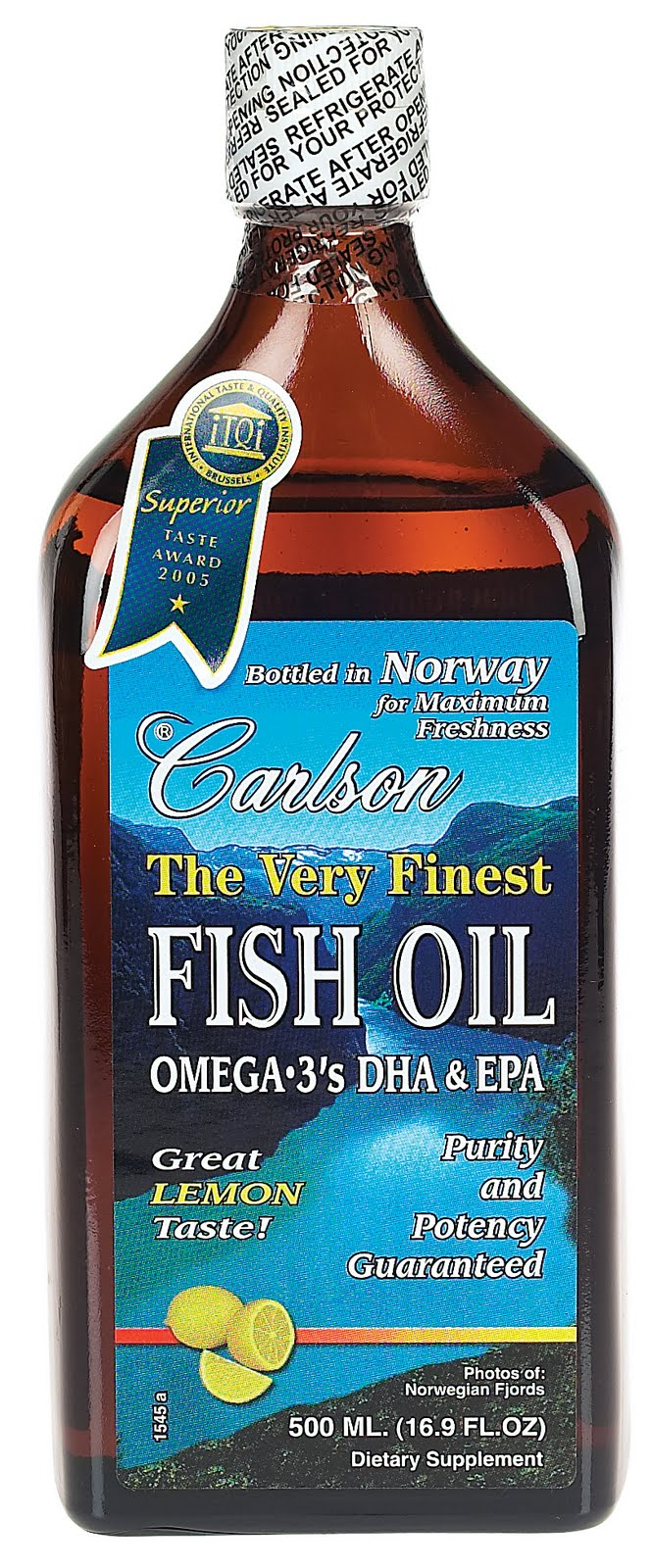 The speckled banana miracle liquid fish oil for Carlson fish oil liquid