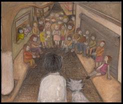 Carlitos el ciruja y el gato montés entrando a Villa Celina