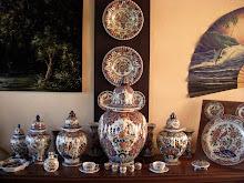 Velsen polychrome porcelain collection