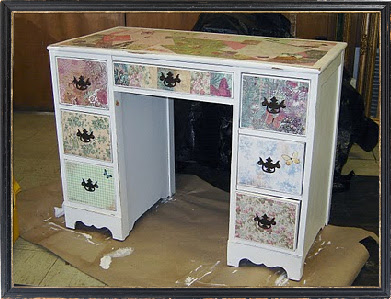 decoupage coffee table ideas ~ plan here