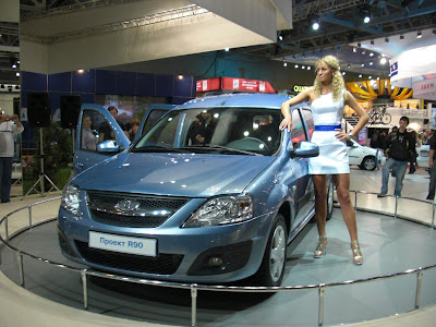 Russian Cars Info Moscow International Motor Show 2010