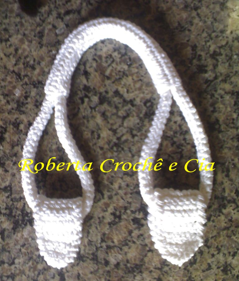 How To Crochet A Purse : Crochetpu rse handles