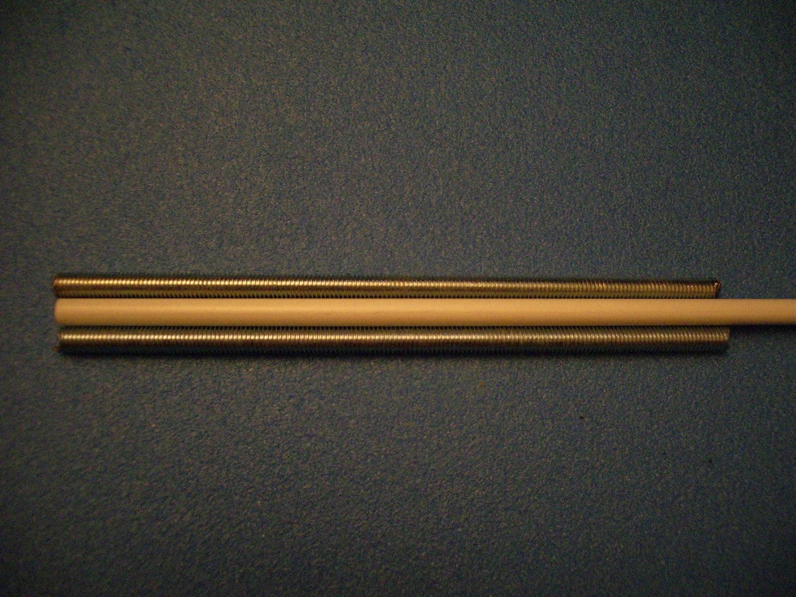 Las forjas de skilfngheim c mo fabricar espadas de - Varillas de fibra de vidrio ...