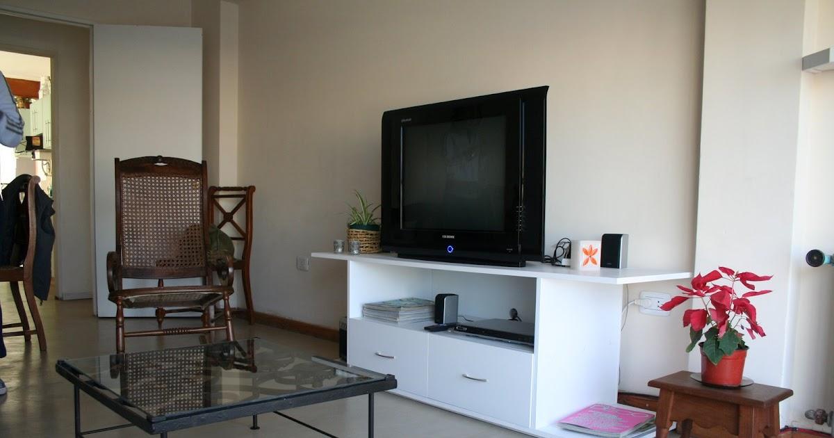 Muebles a Medida Tandil Mesa ratona en hierro y Mueble para TV DVD