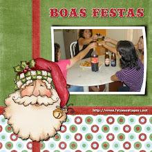 Um brinde a nós...Cheers!!!