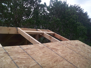 Morgan homestead august 2010 for Roof sheathing thickness