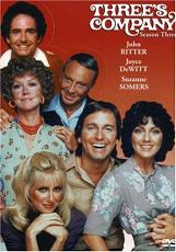 Three's Company Season 3 DVD (liner notes and featurettes by chris mann)