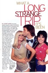Three's company TV Guide story by Chris Mann