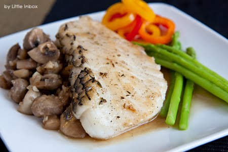 Little inbox recipe eating pleasure pan fried cod fish for Sauce for cod fish