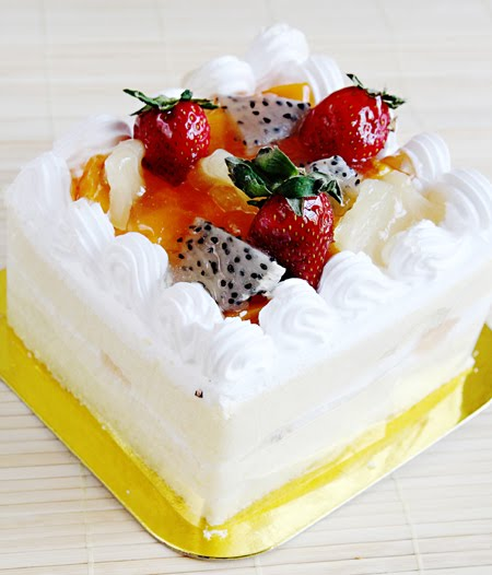little inbox recipe eating pleasure fruit sponge cake