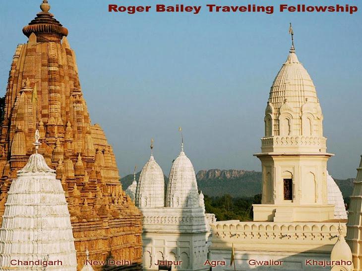 India - Bailey Traveling Fellowship