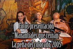 """Presentación de """"Manantiales que reinan"""" FOTOS"""