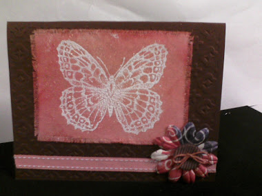Stamping on Canvas Embossed