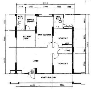 Resale Revival: Resale 4-Room Flat Layout Re-organized!