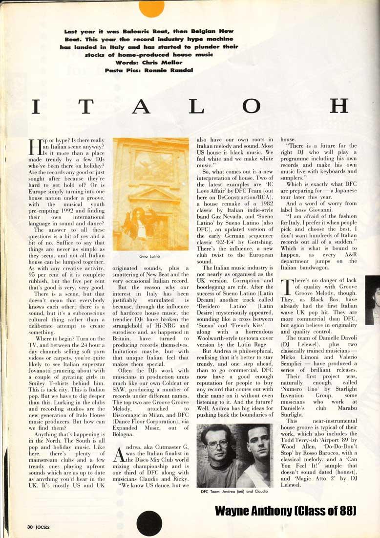 The history of acid house italian house history jocks for Acid house history