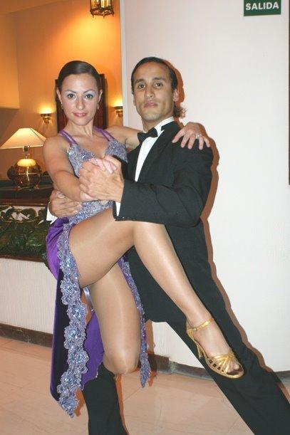 Laura Legazcue y Federico Garcia
