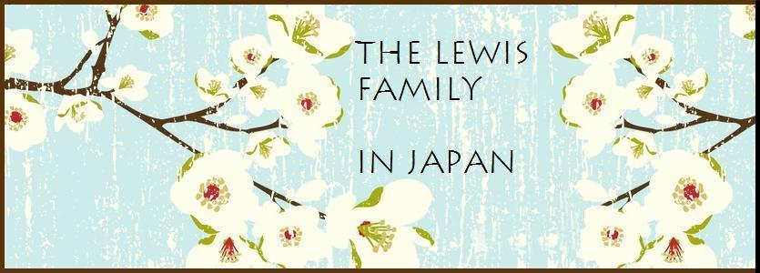 The Lewis Family in Japan