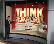 THINK OF US AS YOUR WINDOW OF OPPORTUNITY