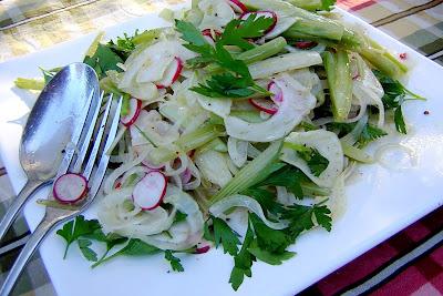fennel salad La Spiga