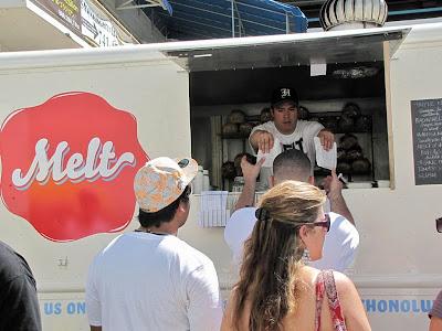 Lindsey Ozawa Melt food truck Honolulu photo by Mark Nakagawa