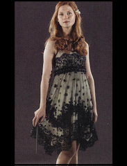 Ginny Weasley And Jenny Packham Fall 2008 Embelished Dress Gallery