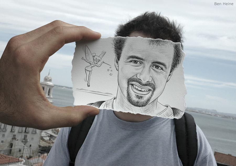 Pencil Drawing Versus Camera